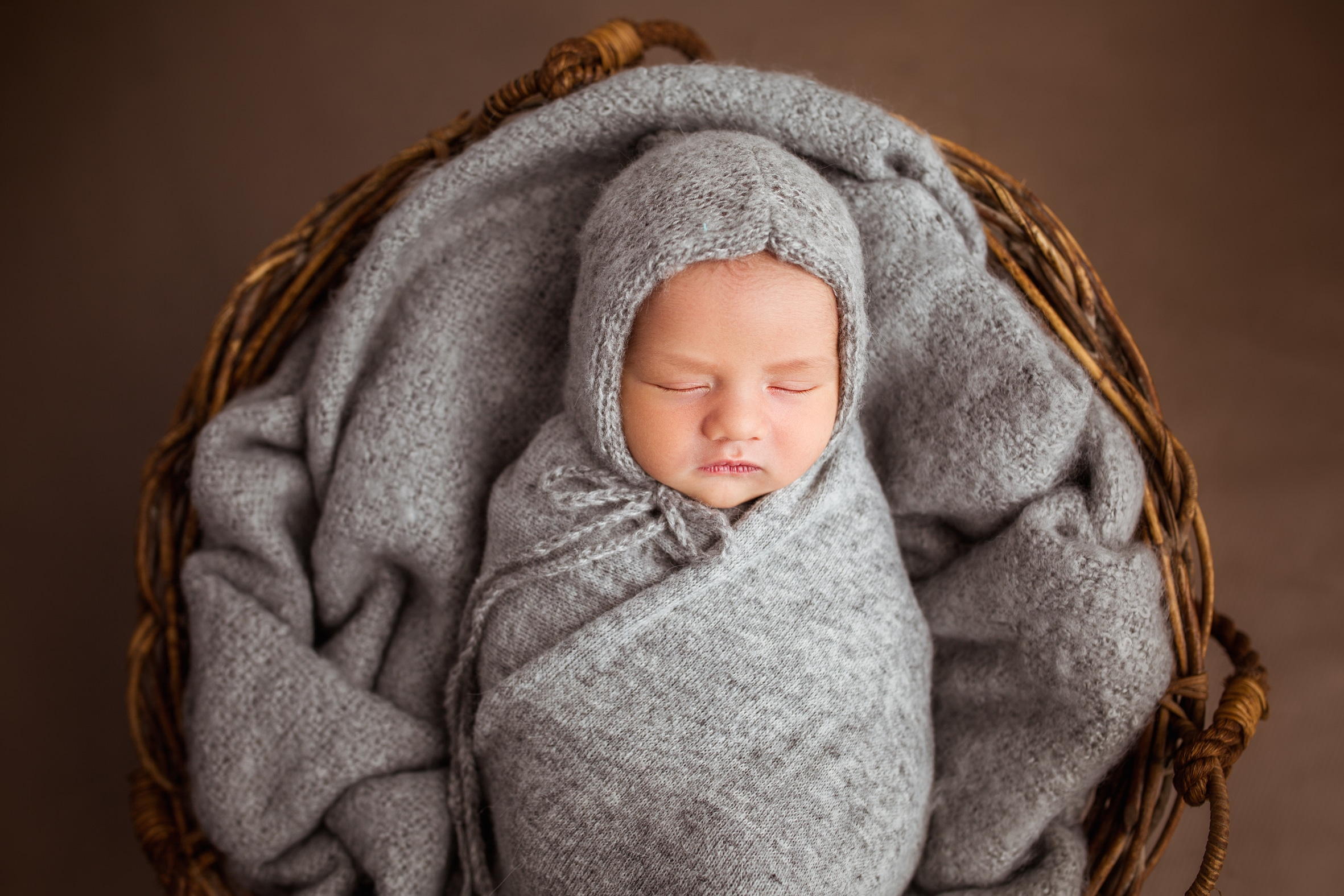 Indoor photography newborn